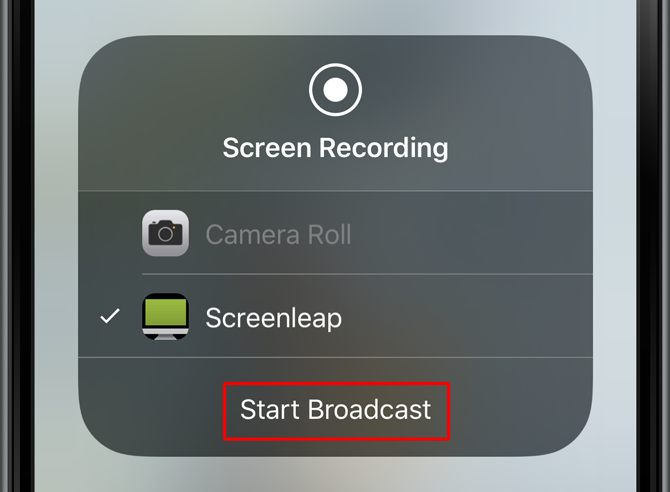 Screenleap for iOS app